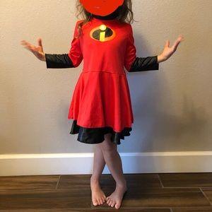 EUC girls Incredibles costume